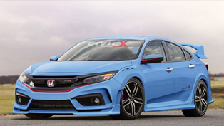 civicx imagines 2017 honda civic type r hatchback prototype