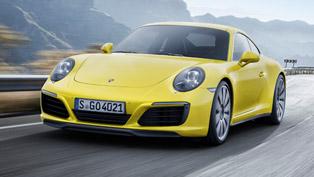 porsche team gears 911 carrera and targa models with new goodies