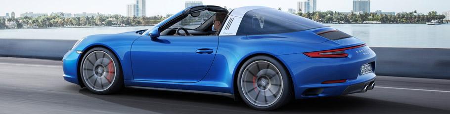 2017 Porsche 911 Tagra 4S
