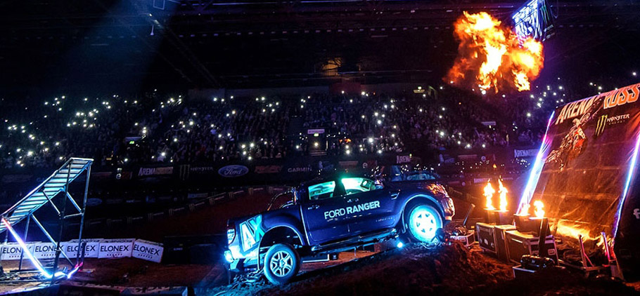 Ford Ranger at ARENACROSS