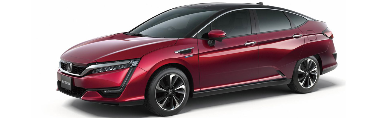 Honda Clarity Fuel Cell Vehicle Side View