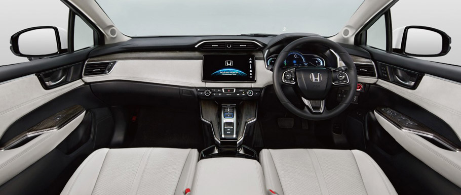 Honda Clarity Fuel Cell Vehicle Interior
