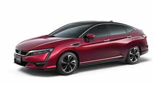 honda clarity fuel cell vehicle revealed at 44th tokyo motor show