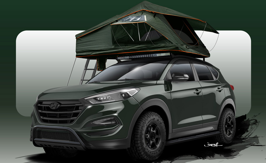 John Pangilinan Hyundai Tucson Adventuremobile Sketch