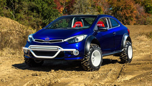 Kia Goes Bad For SEMA with Forte Koup Mud Bogger