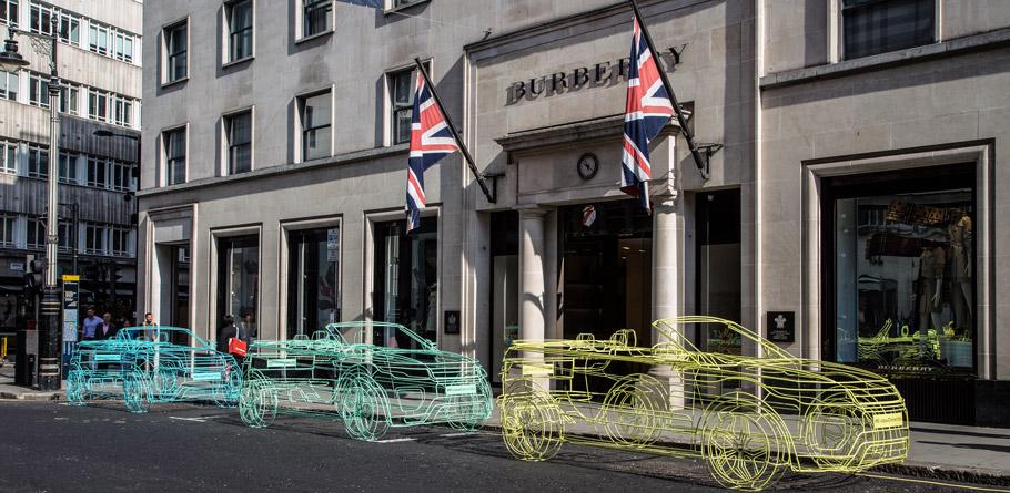 Land Rover Evoque Convertible Art Frames