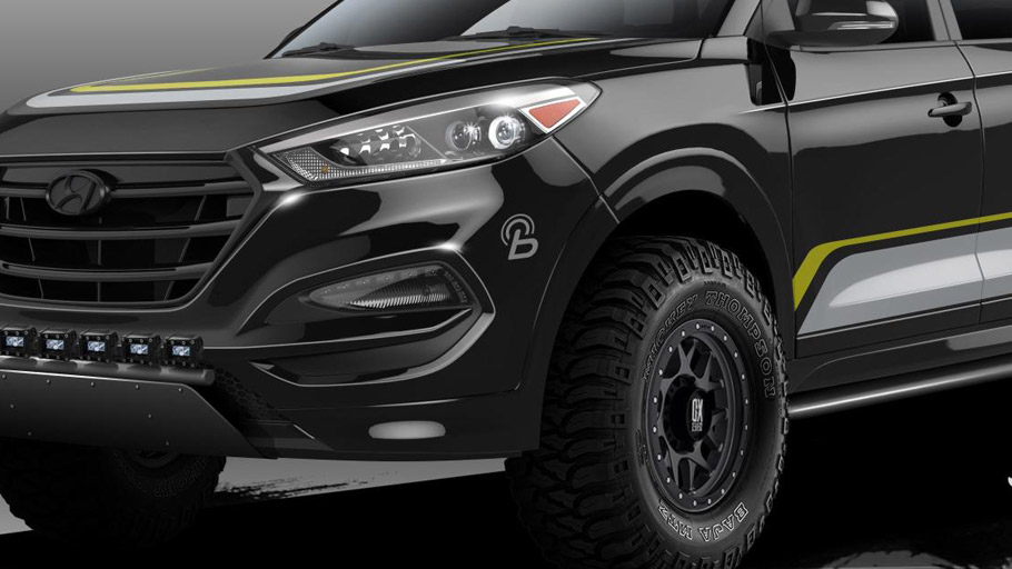 Rockstar Performance Garage Shows Custom Hyundai Tucson