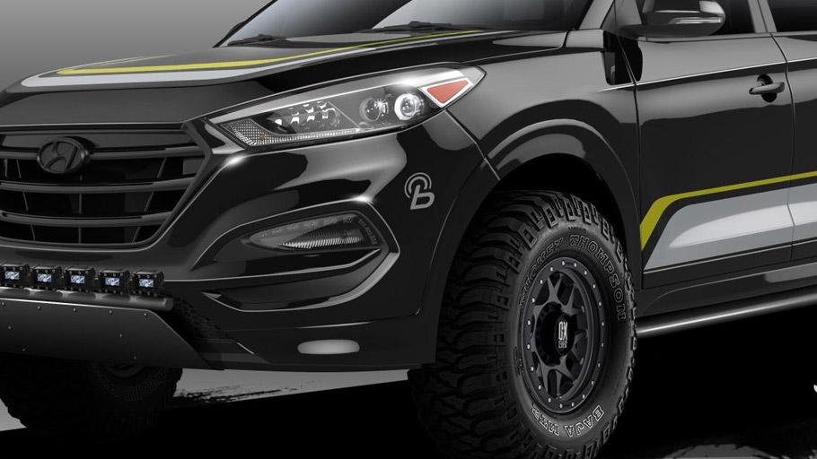 Rockstar Performance Garage Shows Custom Hyundai Tucson for SEMA