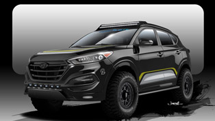 Rockstar Performance Garage Shows Custom Hyundai Tucson for SEMA