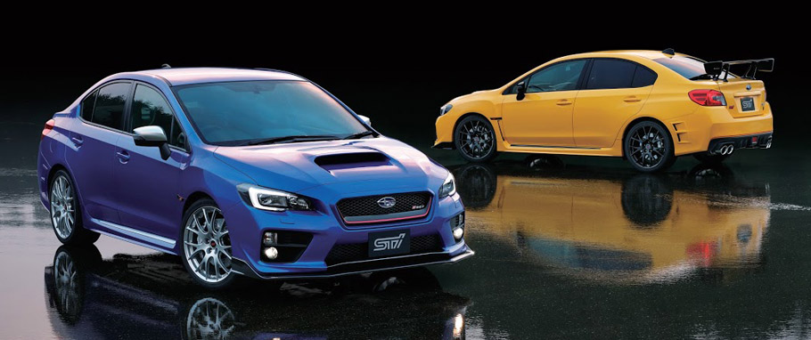 Subaru WRX STI S207 Limited Edition Front and Rear View