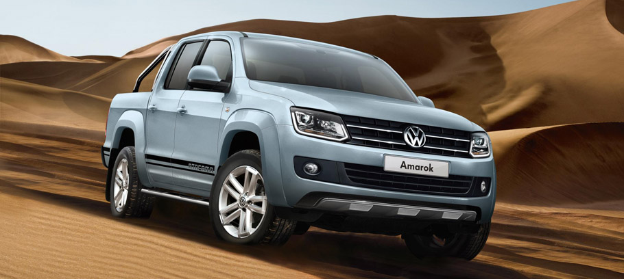 Volkswagen Amarok Atacama Limited Edition Front and Side View