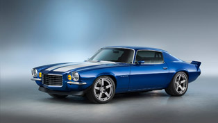 1970 Chevrolet Camaro RS is Supercharging SEMA with its Crate LT4 Engine