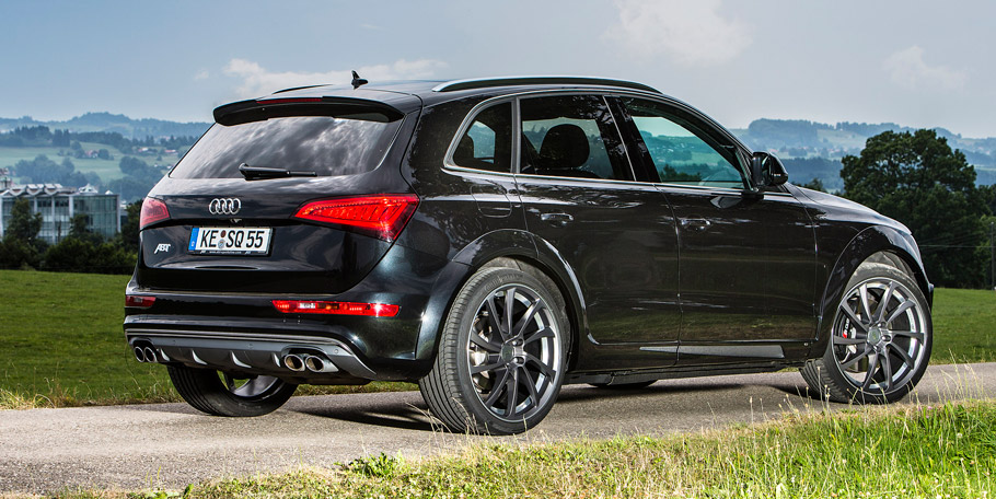 ABT Sportsline Audi SQ5 Rear View