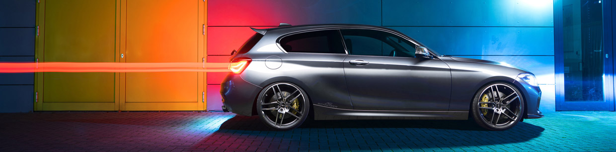 BMW 1-Series by AC Schnitzer Side View