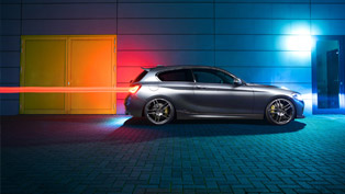 believe it or not this uprated bmw 1-series is incredibly powerful! covers 0-100 km/h in 4.5 seconds!