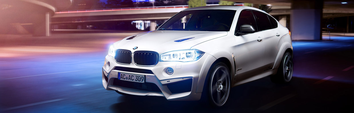 AC Schnitzer BMW X6 M FALCON Front View