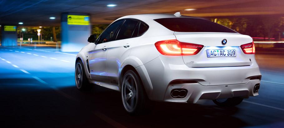 AC Schnitzer BMW X6 M FALCON Rear View