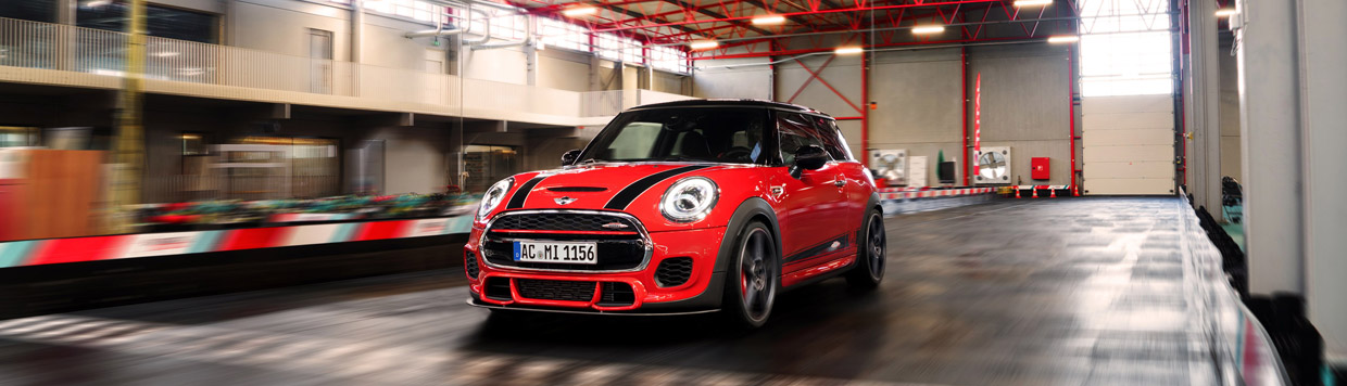 2015 AC Schnitzer MINI John Cooper Works Front view