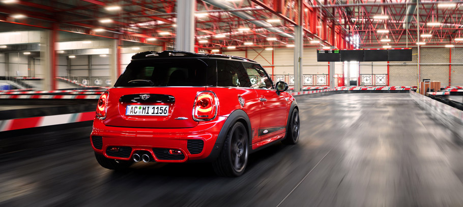 2015 AC Schnitzer MINI John Cooper Works Rear View
