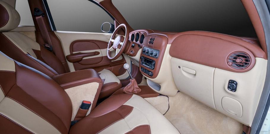 Carbon Motors Chrysler PT Cruiser Widebody Interior