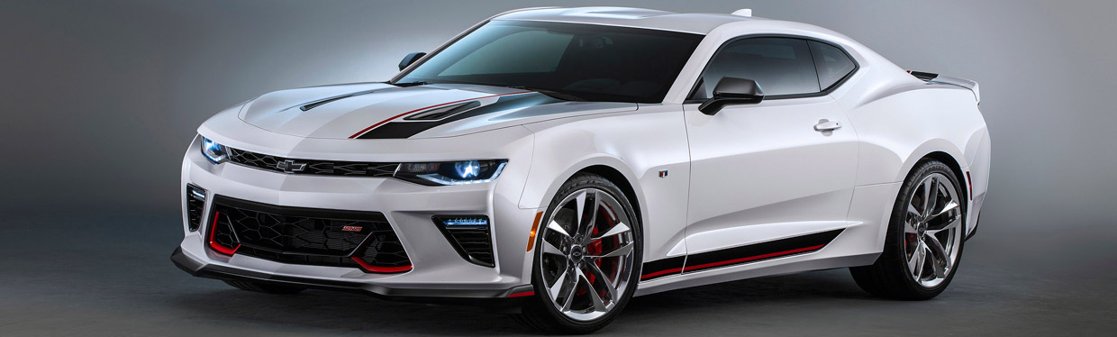 Camaro Performance Concept Side View