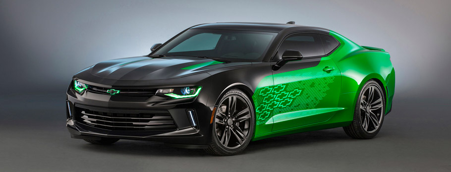 Camaro Krypton Concept Side VIew