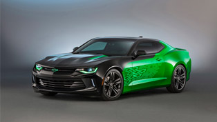 a big review on the gen six camaros governing the sema show