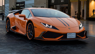 DMC Shows Winged Huracan LP610 Cairo Edition