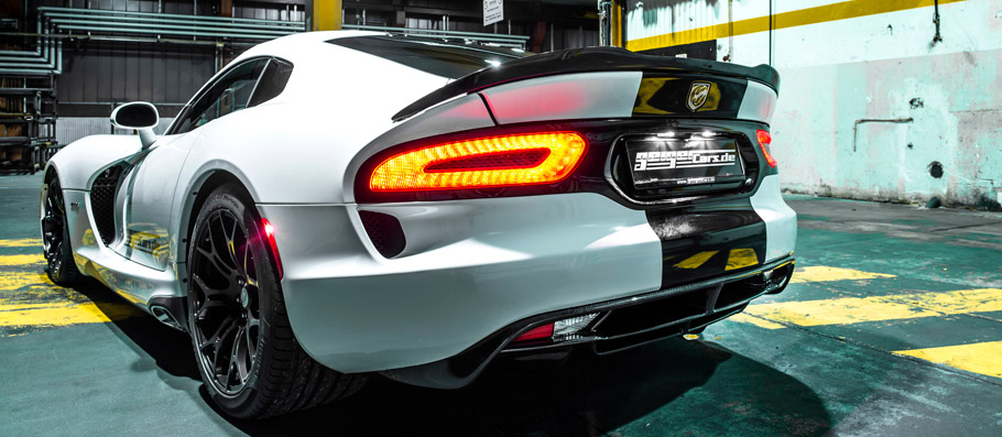 GeigerCars.de Dodge Viper GTS R710 rear View
