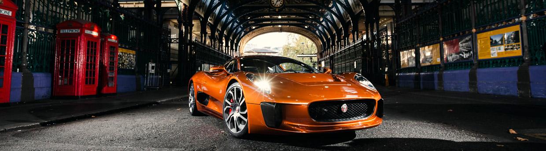 SPECTRE's Jaguar C-X75 Front View