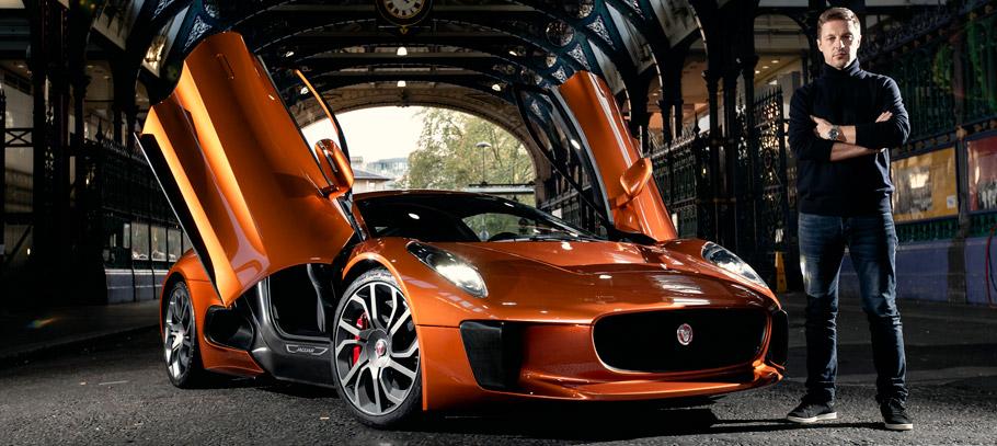 SPECTRE's Jaguar C-X75 Front View with Martin Ivanov