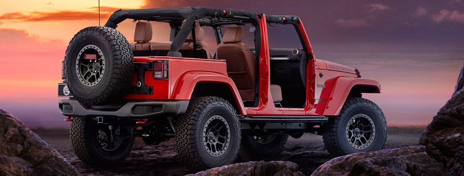 Jeep/Mopar Wrangler Red Rock Concept