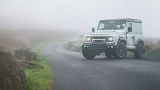 Kahn Continues its Strong Relationship with Land Rover with the Introduction of Silver Defender Hard Top