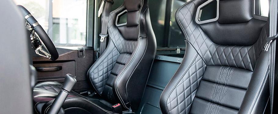 Land Rover Defender Hard Top CWT by Kahn Interior