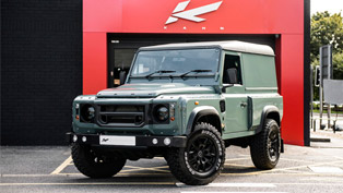Kahn Designs a Keswick Green Defender that is Ready for Action
