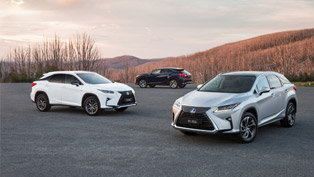 lexus launches fourth-generation rx, including the new fwd rx 200t