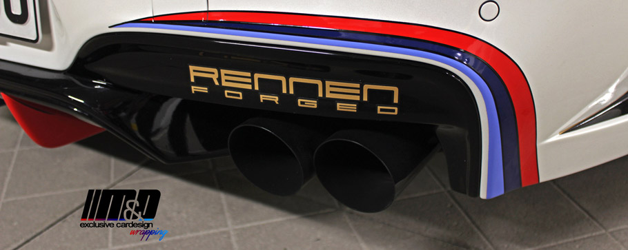 M&D BMW 650i PD6XX GT3 Exhaust Tailpipes
