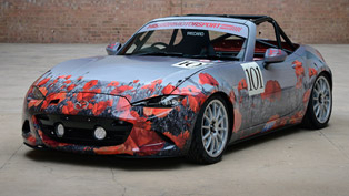 2015 mazda mx-5 will be the special vehicle at race of remembrance