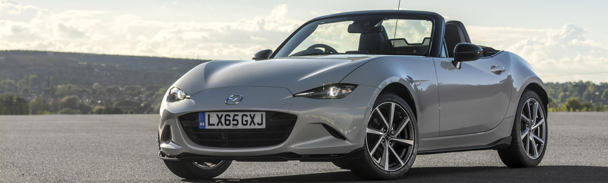 Mazda MX-5 Sport Recaro Limited Edition Front View