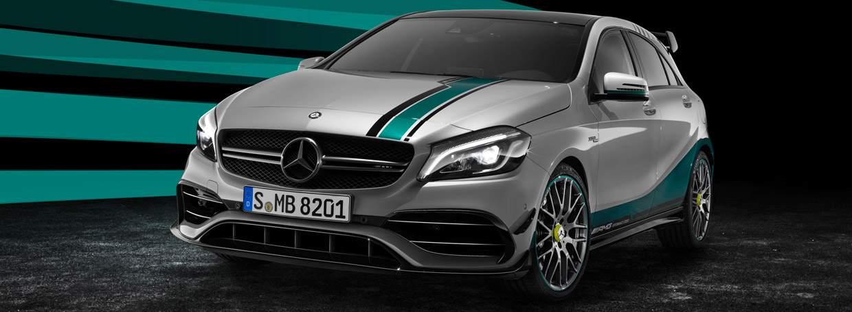 Mercedes-AMG A45 4MATIC Champions Edition Front View