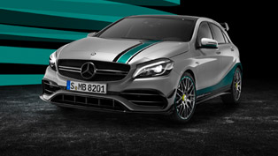 Mercedes-AMG Celebrates F1 with A45 4MATIC Champions Edition