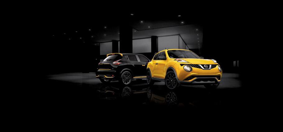 Nissan JUKE Stinger Editions Yellow and Black