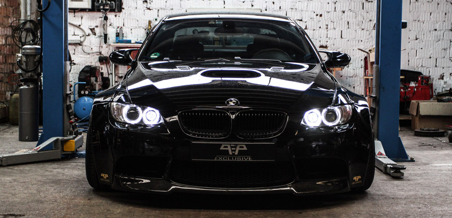 PP Exclusive BMW M3 E92 Liberty Walk Front View