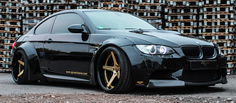 PP Exclusive BMW M3 E92 Liberty Walk  Side View
