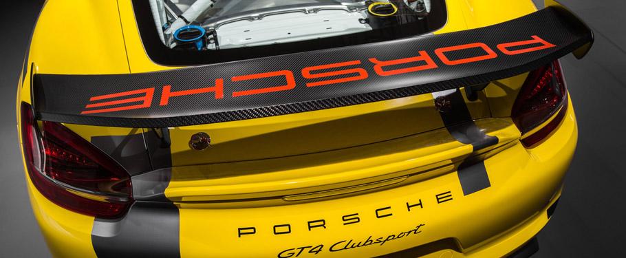 Porsche Cayman GT4 Clubsport Beautiful Rear