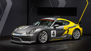 Track-Bred Porsche Cayman GT4 Clubsport Debuts in L.A.