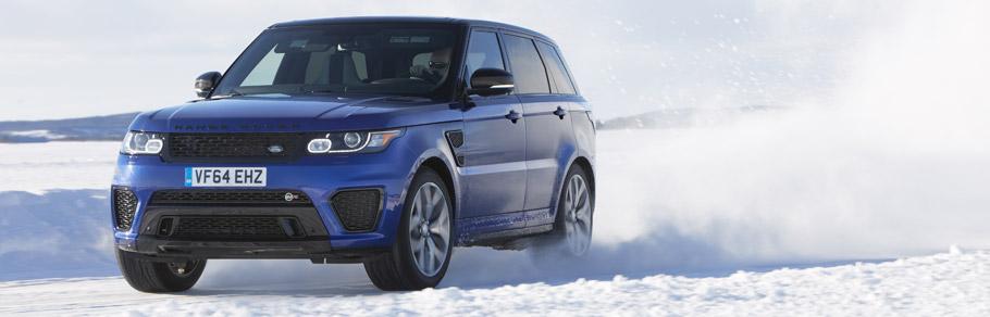 Land Rover SVR Sport