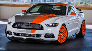 it appears as ford is this year's star at sema 2015