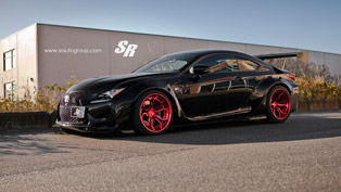 It's Not Bunny Season but it is Definitely Time for a Custom Lexus RCF Rocket Bunny