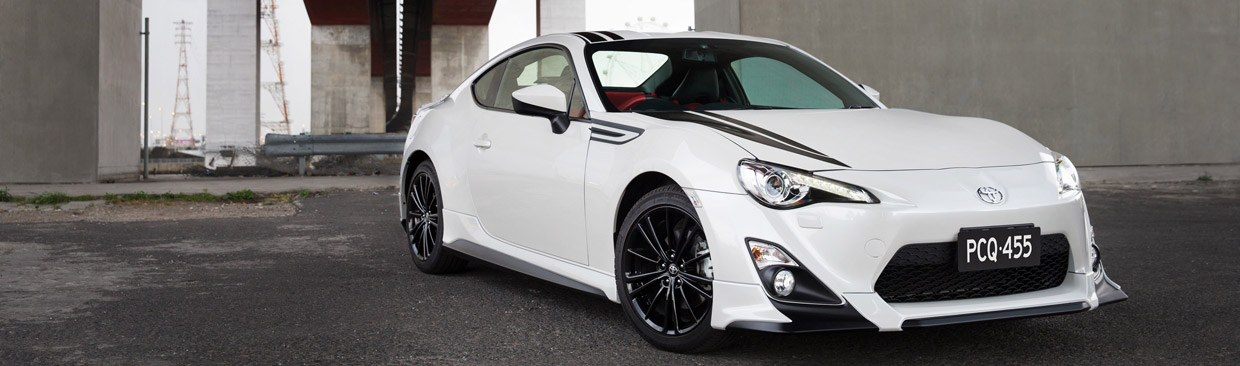 Toyota 86 Blackline Edition Front View